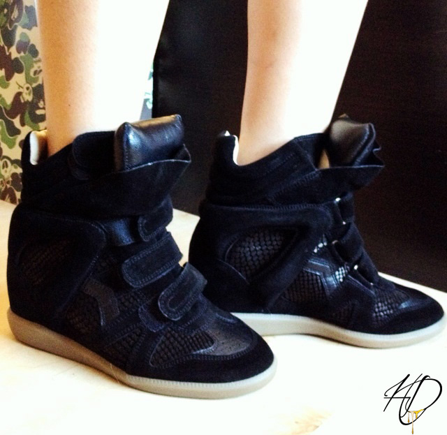 isabel marant sneaker wedges yay or nay. Black Bedroom Furniture Sets. Home Design Ideas